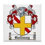 Gallway Coat of Arms Tile Coaster