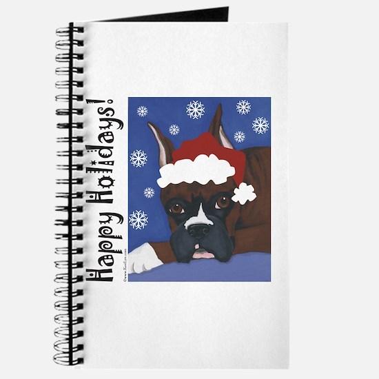 Boxer Santa Journal