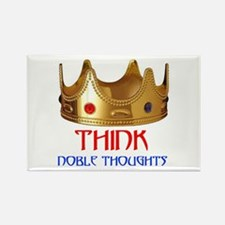 NOBLE THOUGHTS Rectangle Magnet