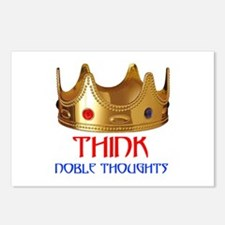 NOBLE THOUGHTS Postcards (Package of 8)