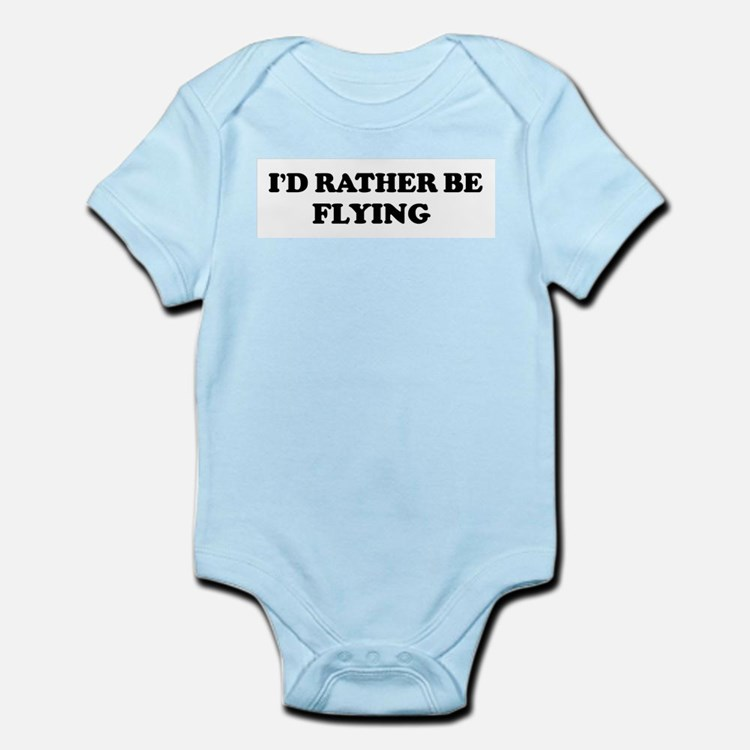 Rather be Flying Infant Creeper