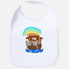 Noah's Ark Baby Bib