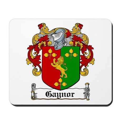 Gaynor Coat of Arms Mousepad