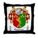 Gaynor Coat of Arms Throw Pillow