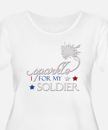 I Sparkle for my Soldier T-Shirt