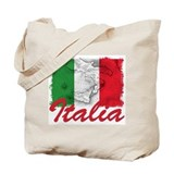Italy Regular Canvas Tote Bag