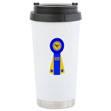 Boxer Ribbon Travel Mug
