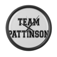 Team Pattinson Large Wall Clock
