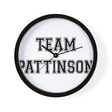 Team Pattinson Wall Clock