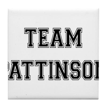 Team Pattinson Tile Coaster