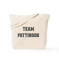 Team Pattinson Tote Bag
