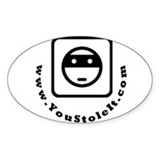 Stole Curve Oval Decal