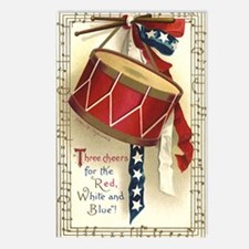 Vintage 4th of July Postcards (Package of 8)