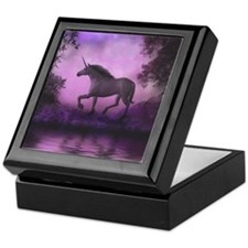 Enchanted Unicorn Keepsake Box