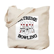 Extreme Bowling Tote Bag