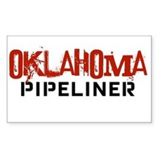 Oklahoma Pipeliner Rectangle Decal