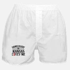 Somebody In Kansas Boxer Shorts