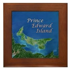 Prince Edward Island Framed Tile