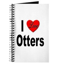 I Love Otters Journal