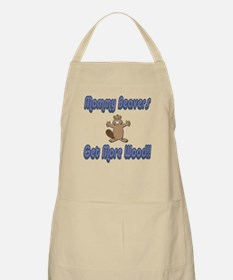 Mommy Beavers Get More Wood BBQ Apron