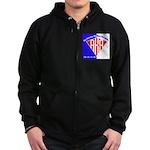 American Kitefliers Associati Zip Hoodie (dark)