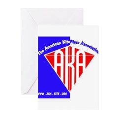 American Kitefliers Associati Greeting Cards (Pk o