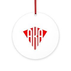 American Kitefliers Associati Ornament (Round)