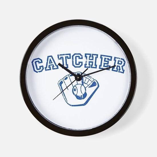 Catcher - Blue Wall Clock