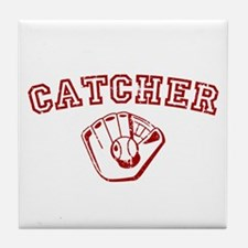 Catcher - Red Tile Coaster