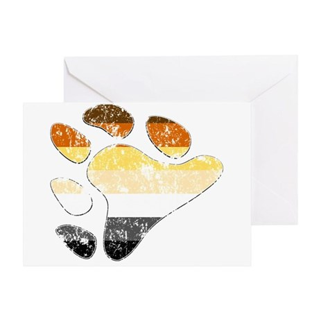 Bear Pride Claw Greeting Card