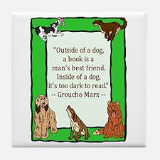 Groucho Tile Coaster