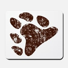 Distressed Bear Claw Mousepad