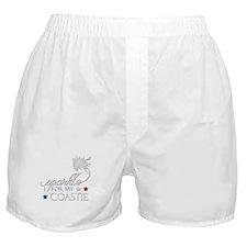 I sparkle for my Coastie Boxer Shorts