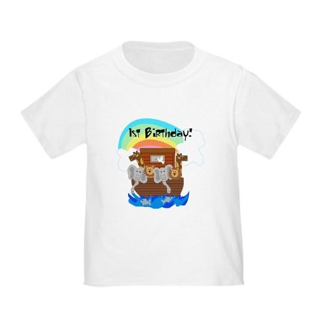 Noah's Ark First Birthday Toddler T-Shirt