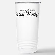 Mommys Little Social Worker Travel Mug