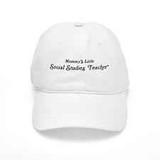 Mommys Little Social Studies Baseball Cap