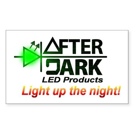 AfterDark LED Rectangle Sticker