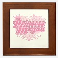Princess Megan Framed Tile