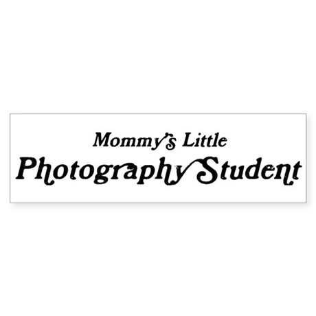 Mommys Little Photography Stu Bumper Sticker