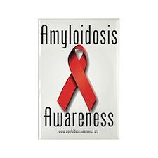 Amyloidosis Awareness Rectangle Magnet