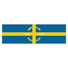 Sweden World Cup 2006 Soccer Bumper Bumper Sticker