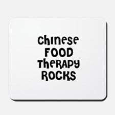 CHINESE FOOD THERAPY  ROCKS Mousepad