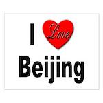 I Love Beijing Small Poster