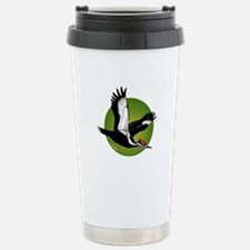 Pileated Woodpecker Stainless Steel Travel Mug
