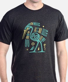 Tribal Crane T-Shirt