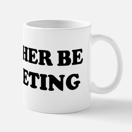 Rather be Crocheting Mug