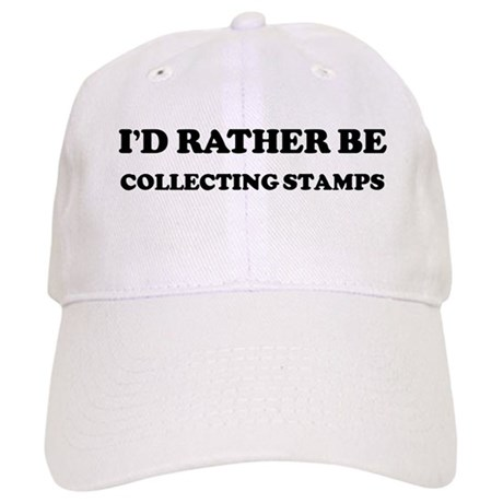 Rather be Collecting Stamps Cap