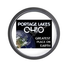 portage lakes ohio - greatest place on earth Wall