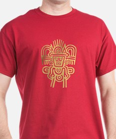 Aztec Man Black T-Shirt