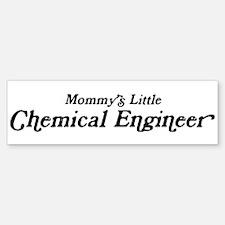 Mommys Little Chemical Engine Bumper Bumper Bumper Sticker